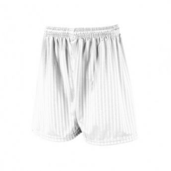 Football Shorts - White